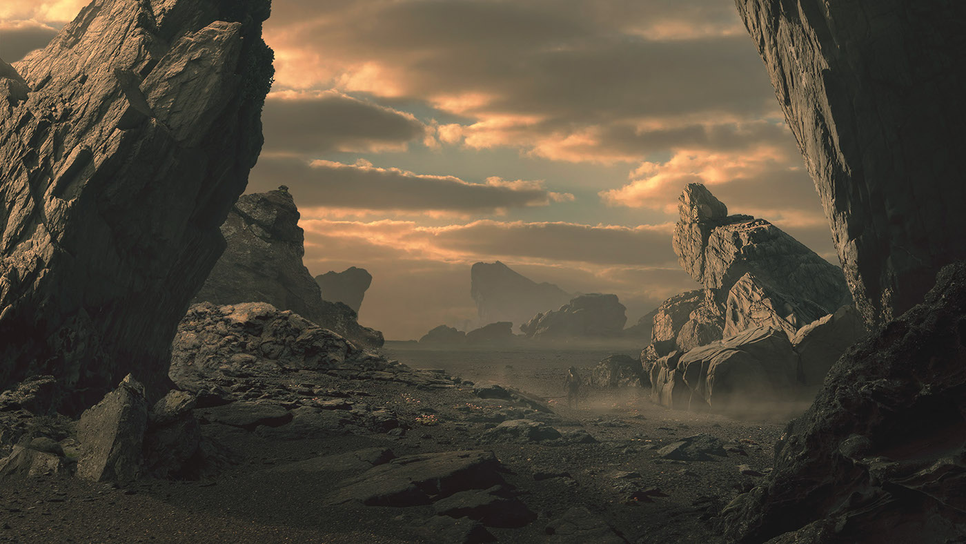 Interview with francesco marzoli digital artist matte for Matte painting