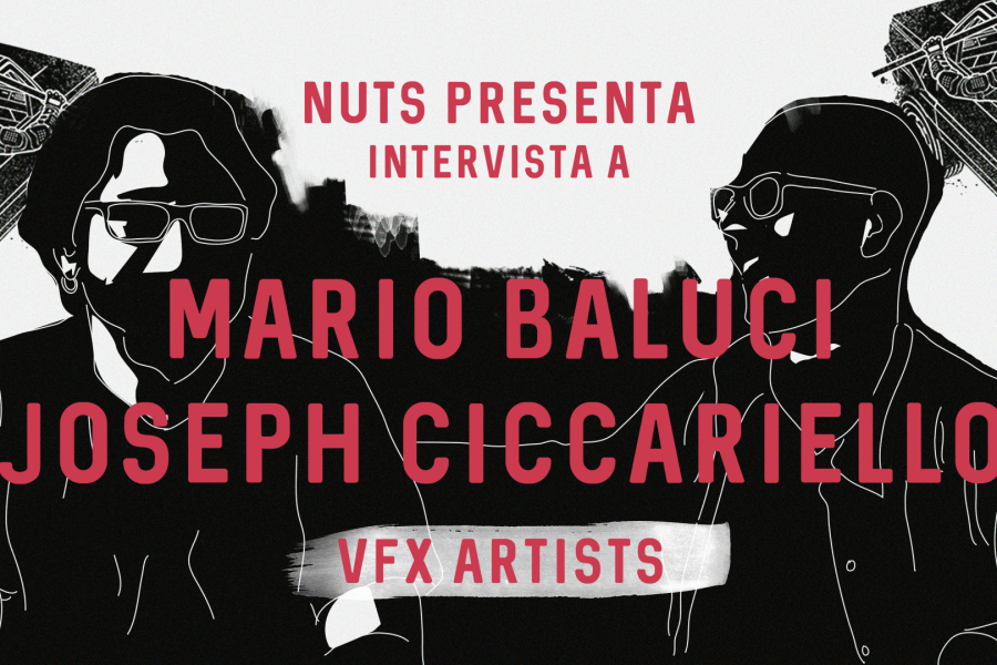 Video Intervista a Mario Baluci e Joseph Ciccariello VFX artists