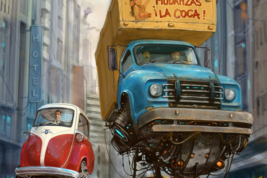 Alejandro Burdisio Illustrator