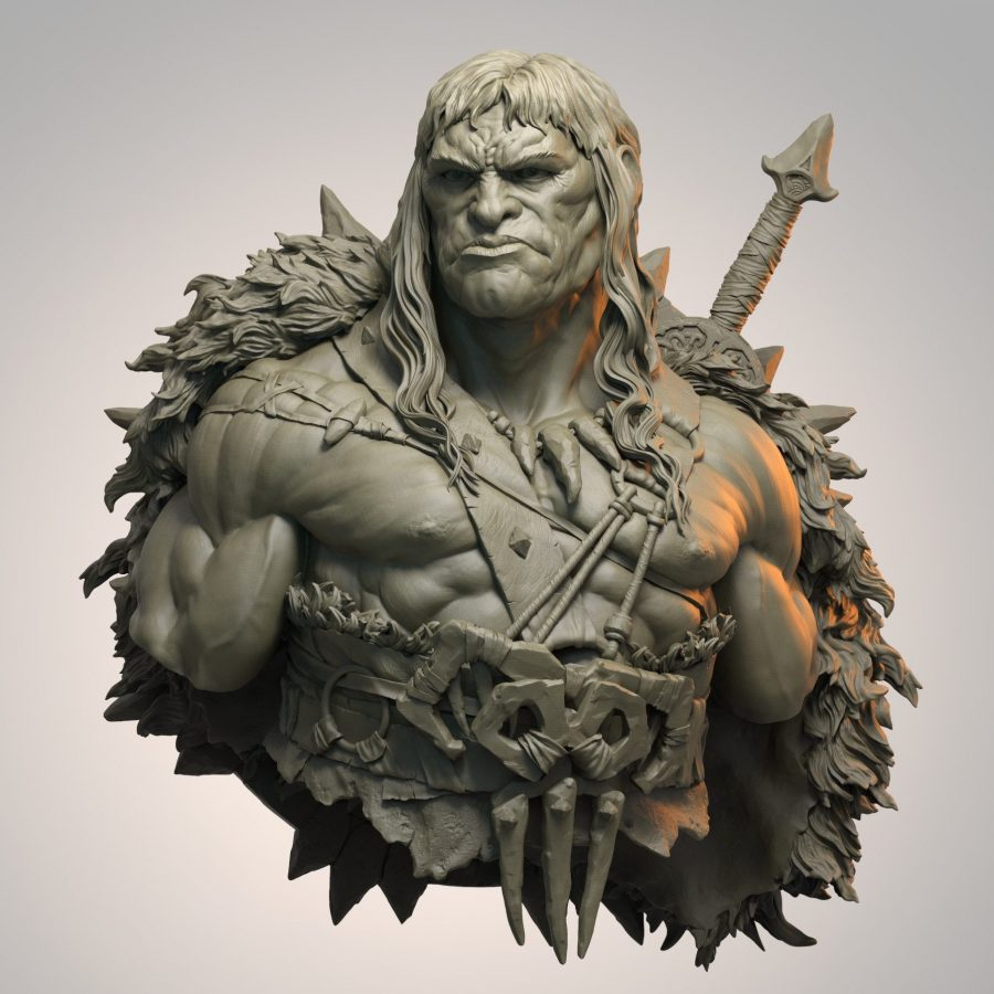 Raul Garcia Latorre 3D Character Artist and Sculptor