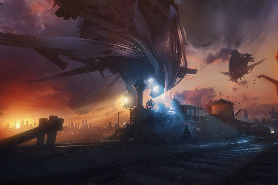 Bastien Grivet Art Director e Matte Painter