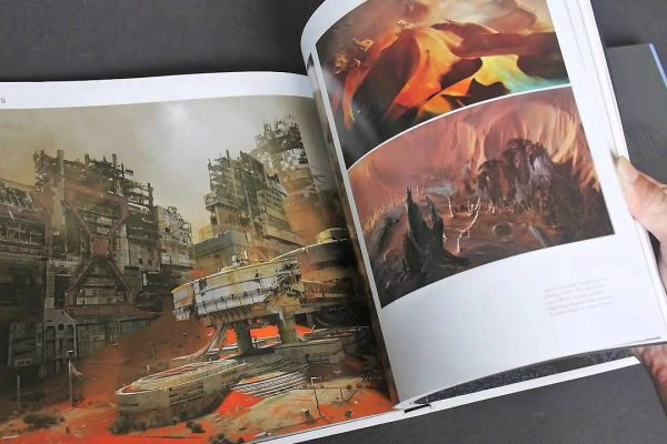 A must have art books for video games and cards