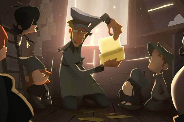 Klaus: the birth of the 2D animated Netflix movie, which looks like 3D